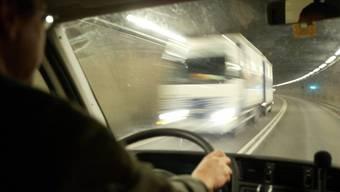 Der belgische Chauffeur kam im Tunnel ins Schleudern. Weshalb ist noch unklar. (Symbolbild)