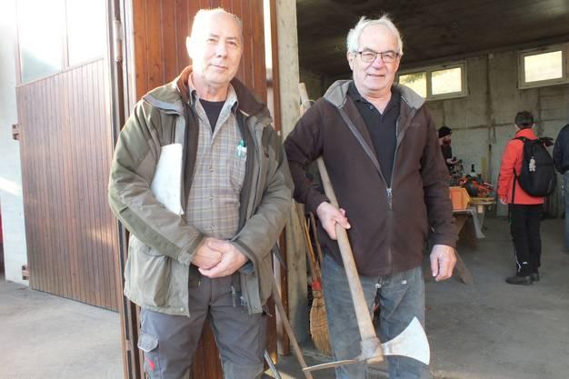 Urs Jakober (links) und Willi Vonblon freuten sich am Samstag sehr.