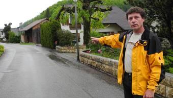 Hat Georg Grolimund den Panther in Erschwil gesehen?