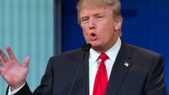 Wäre gerne ein Mauer-Bauer: US-Präsidentschaftsbewerber Trump