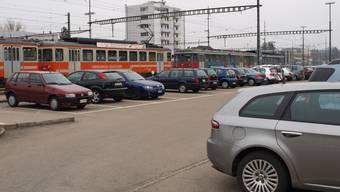 Priorität: Das Projekt Park-and-Ride auf der Nordseite des Bahnhofs Langenthal.