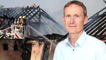 Andreas Schmid, Co-Geschäftsleiter der Spyk Bänder AG: «Es ist ein Albtraum, wenn die eigene Firma brennt. Das Schlimmste aber ist, dass ein Mensch sein Leben verloren hat.»