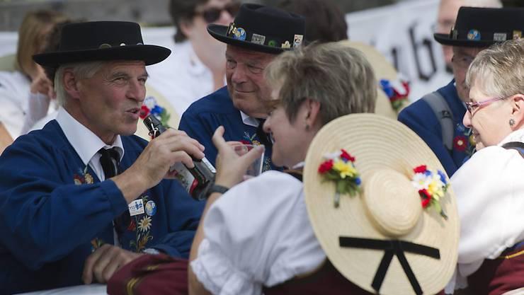 Nächste Station Lugano: Nach Lyss BE im Jahr 2011 wird das Schweizerische Trachtenchorfest in diesem Jahr zum ersten Mal im Tessin stattfinden. (Archivbild)