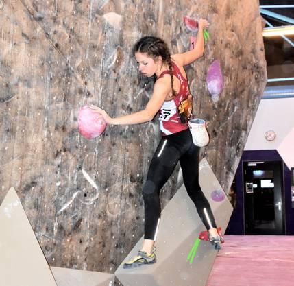 Annalisa Tognon (Langnau a.A.) bestritt ihren ersten Wettkampf in der Kategorie U18 und wurde auf Anhieb Dritte.