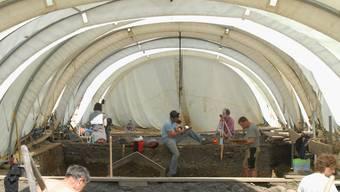 Die Grabungen zeigen: Vindonissa war grösser und dichter überbaut als angenommen