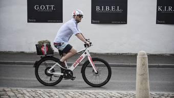 Betrieben werden die 20 bis 25 E-Bikes vom Elektroveloverleih Pick-e-Bike.