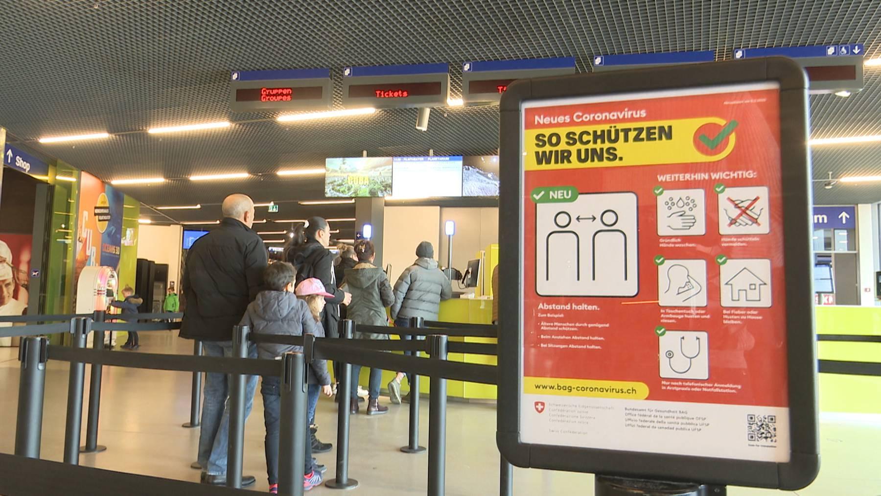 Wegen des Coronavirus bleibt das grösste Museum der Schweiz geschlossen.