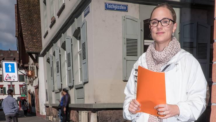 Für Sonja Roest, Prostitutionsverantwortliche im Sicherheitsdepartement, gibt es keine Tabuthemen.