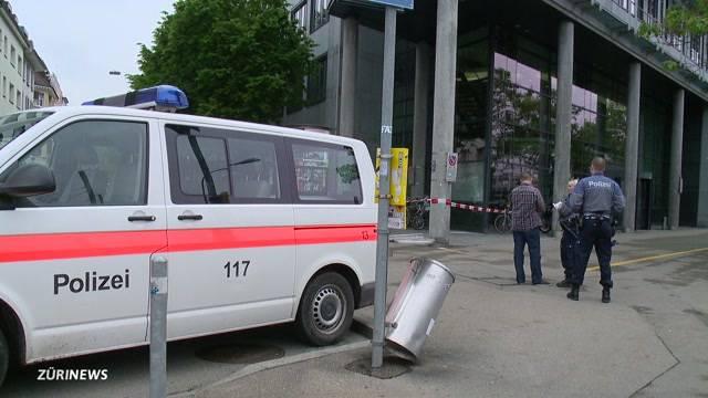 Anschlag gegen SBB an der Zollstrasse