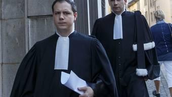 Auf Antrag der beiden Verteidiger Yann Arnold (links) und Leonardo Castro wurden die Richter in Ausstand gesetzt. (Archivbild)