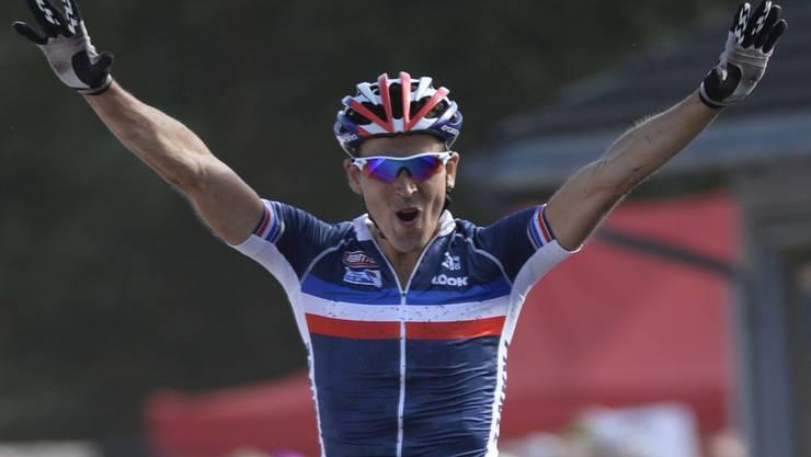Der Franzose Julien Absalon wurde am Ende überlegen Weltmeister.