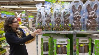 Osterschokolade ist nach wie vor beliebt, aber das Coronavirus drückt auf unsere Einkaufslaune. (Symbolbild)