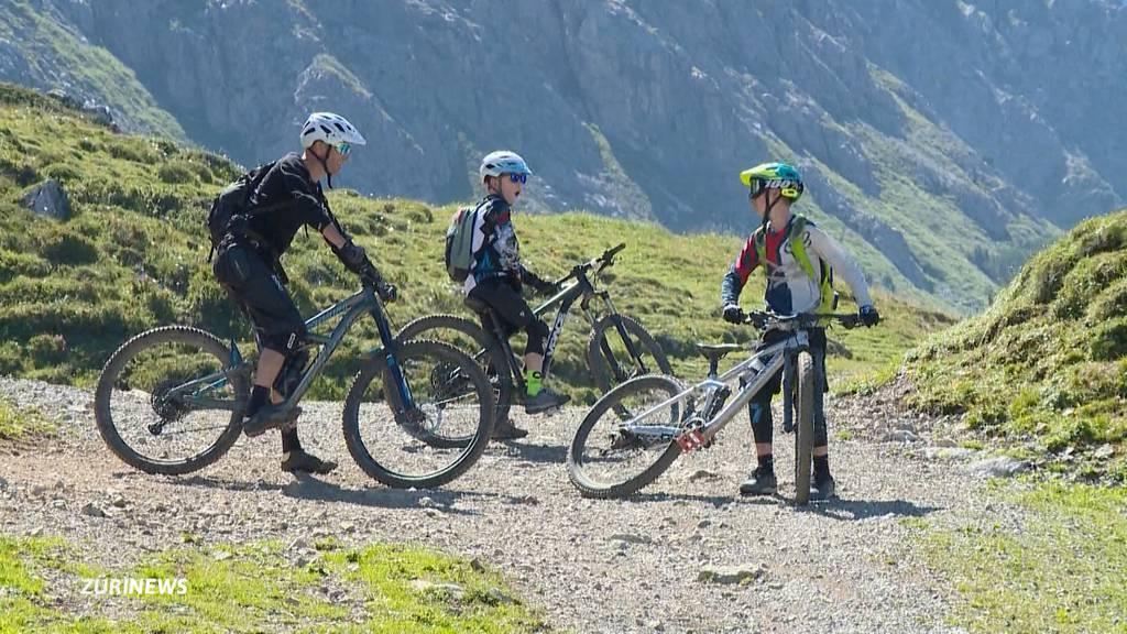 Tourismus in Graubünden blüht während Corona-Krise auf