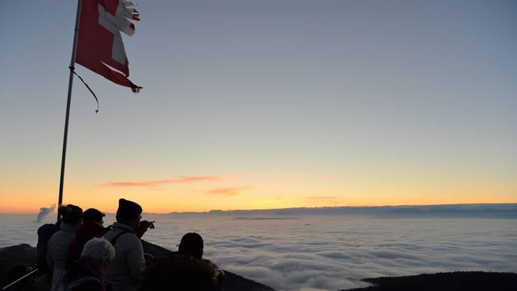 «Vom Bölche bis zum Rhy» lichten wir den Nebel des Unwissens. Franz Schweizer