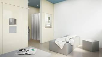 Auf der Triage-Station werden beispielsweise psychiatrische Notfälle aus dem Gefängnis behandelt.