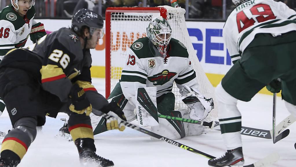 Für die Minnesota Wild bedeuten die Achtelfinals in den NHL-Playoffs Endstation