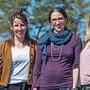 Wollen im Fricktal eine Privatschule gründen: Nicole Käser (v.l.), Nicole Jehle, Corina Siegrist, Stefanie Walder.