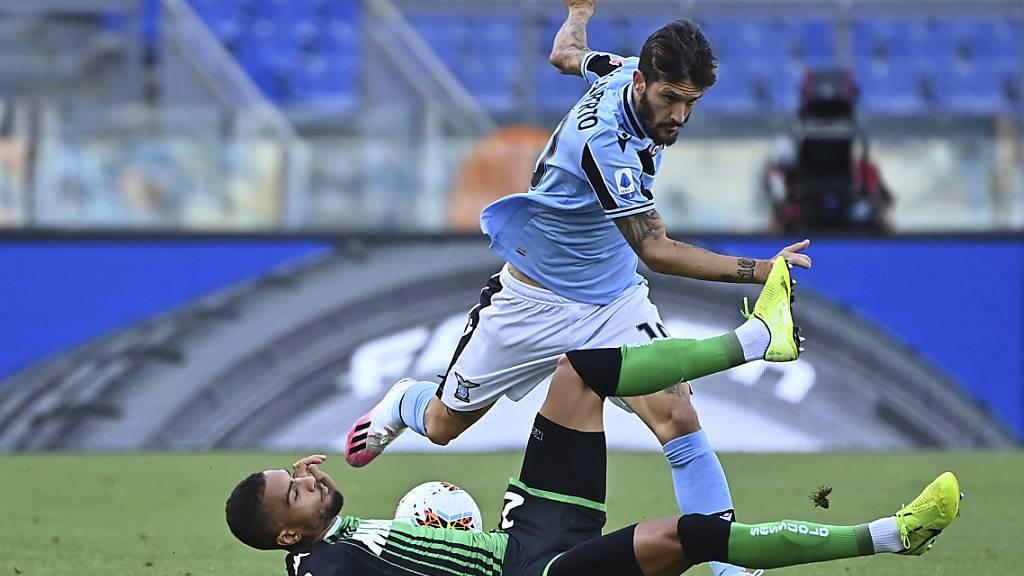 Kein Durchkommen für Lazio: Luis Alberto verliert mit seinem Team gegen Sassuolo