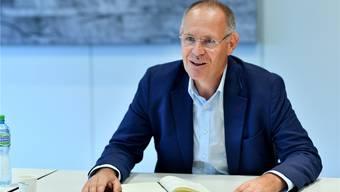 Möchte bei den Ständeratswahlen für die FDP antreten: Kantonalpräsident Stefan Nünlist (57, Olten).bko