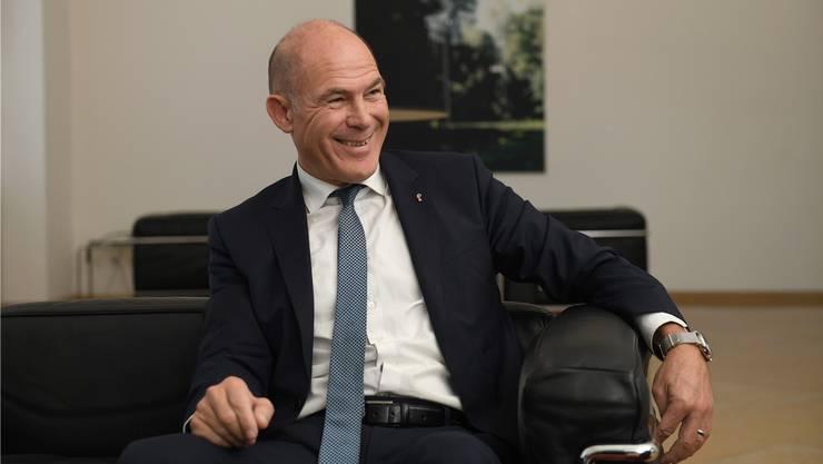 Anton Lauber kann sich freuen: Tag 1 der Budgetdebatte verlief genau nach seinem Gusto.