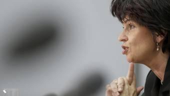 Doris Leuthard nimmt Stellung zu den Abstimmungsresultaten