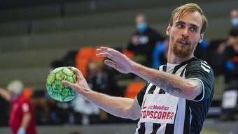 Bester Werfer mit elf Toren für den RTV Basel: Aleksander Spende.