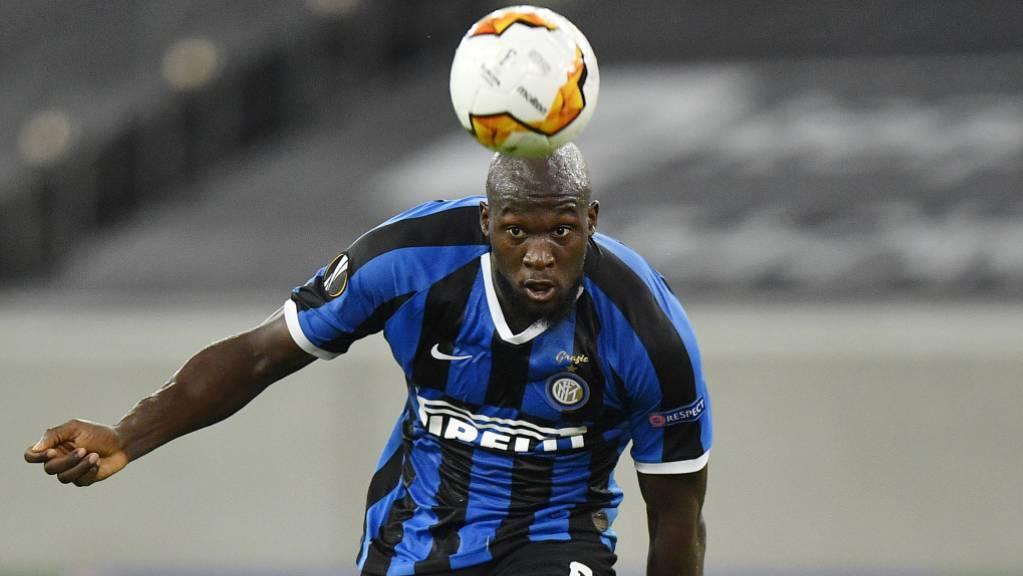 Romelu Lukaku schoss für Inter das 2:0