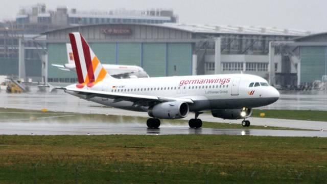Ein Airbus der Fluggesellschaft Germanwings (Symbolbild)