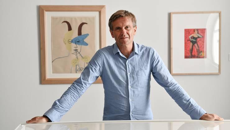 Pierre-Jean Sugier präsentiert in der Fondation Fernet-Branca in St-Louis rund achtzig Druckgrafiken von Picasso.