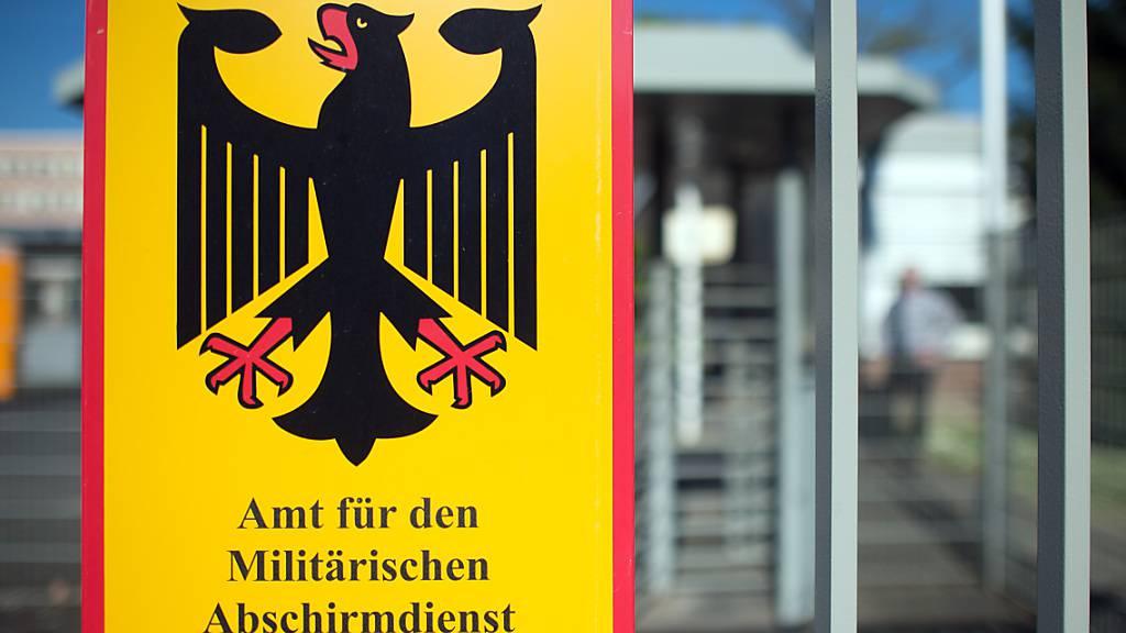 Mehr Verdachtsfälle wegen Rechtsextremismus in Bundeswehr