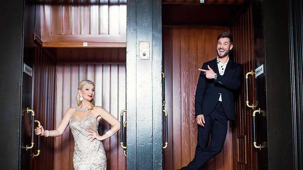 Jochen Schropp und Desriée Nick moderieren ab Freitag die vierte Staffel von «Promi Big Brother». (Archivbild)