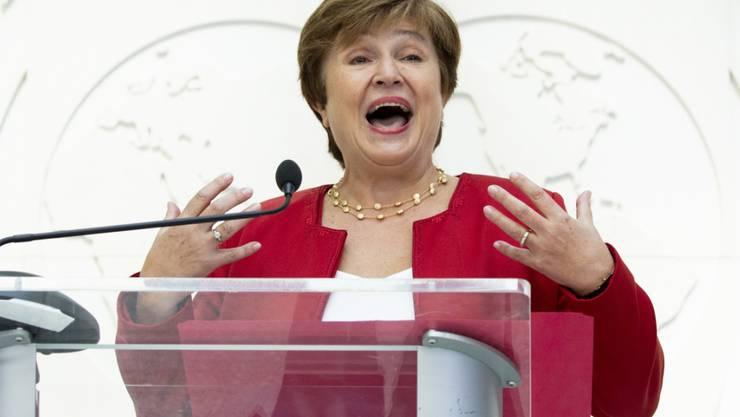 Die Bulgarin Kristalina Georgieva ist am Mittwoch vom Direktorium des Internationalen Währungsfonds in Washington als Chefin bestätigt worden.