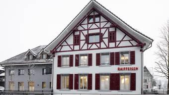 Neue Raiffeisenfiliale in Birmensdorf