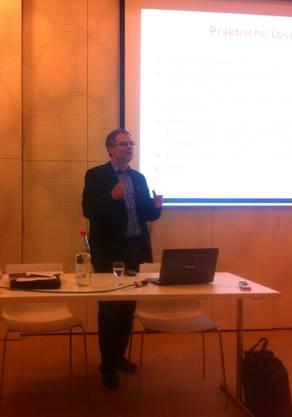 CVP Grossrat André Rotzetter aus Buchs