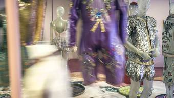 """Blick in die Ausstellung """"Mode Circus Knie"""" - Kostüme aus 100 Jahren im Textilmuseum St. Gallen"""