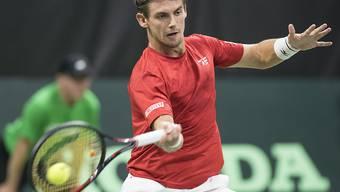 Trotz Rückfall in der Weltrangliste weiterhin die Schweizer Nummer 3: Henri Laaksonen
