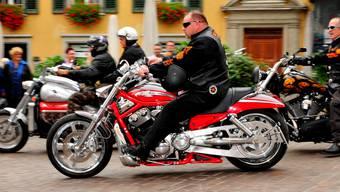 Harley-Parade 2013 anlässliche der HESO