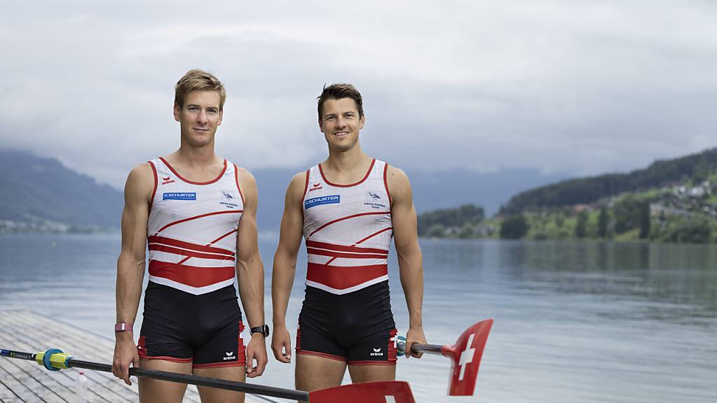 Barnabe Delarze und Roman Röösli wollen in Tokio Olympia-Gold gewinnen