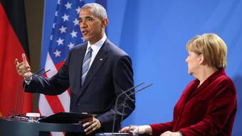 Obama Besuch in Berlin Angela Merkel