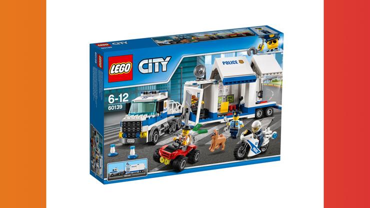 Wunsch-Nr. 69, Brian, 9 Jahre, LEGO City Mobile Einsatzzentrale (60139), z.B. Bei Digitec / Galaxus, CHF 34.70