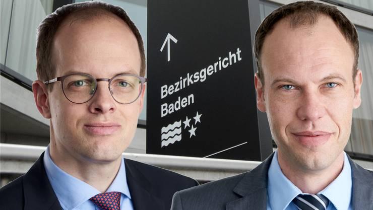 Fabian Wäger (links): «Partei-Beitritt ist nicht mit Blick auf Wahlen erfolgt.» – Pascal Peterhans (rechts): «Man erhält den Eindruck, ich sei durch das Hearing gefallen.»