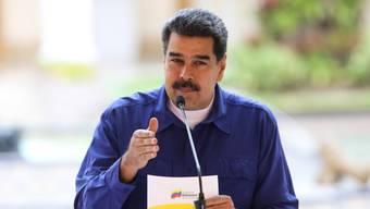 Die USA haben am Freitag weitere Sanktionen gegen Venezuela erlassen, um das Regime um Staatschef Nicolás Maduro weiter zu schwächen. (Archivbild)