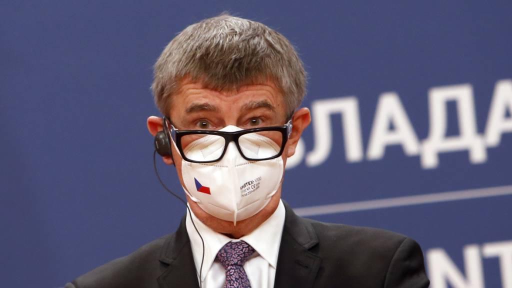ARCHIV - Tschechiens Ministerpräsident Andrej Babis. Foto: Darko Vojinovic/AP/dpa