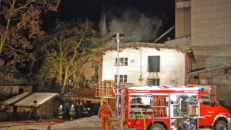 Guter Einsatz: Die Feuerwehren haben richtig und rasch reagiert.