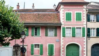 Umstrittener Umbau in ein Museum: Das rosafarbene Haus La Muette, in dem der berühmte Schriftsteller Charles Ferdinand Ramuz zwischen 1930 et 1947 wohnte.