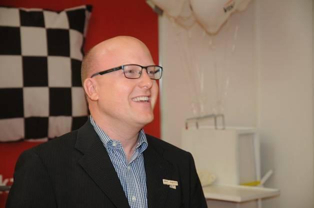 MAG-Präsident Rainer Zulauf bei der Eröffnungsrede