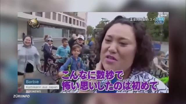 TeleZüri in Japan — Mummenschanz