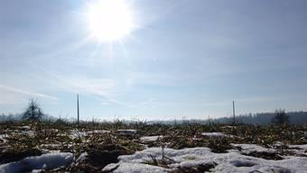 Viel Sonnenschein im Mittelland im Dezember.