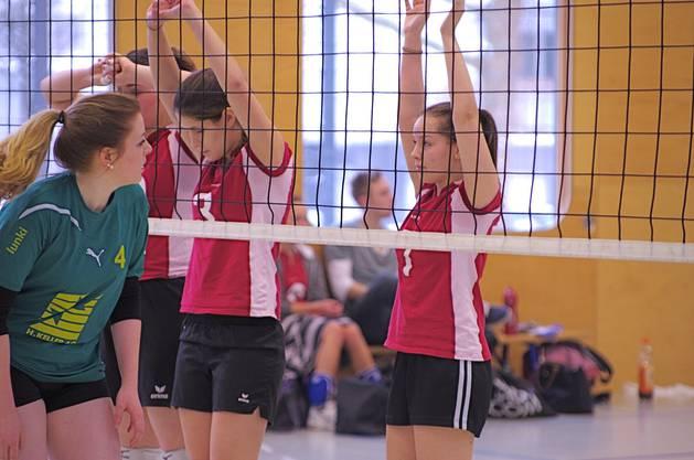 Die 5.-Liga-Mannschaft des Vom Stein Baden im Spiel gegen den TV Lunkhofen