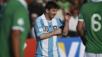 Messi wirkte keine Wunder im Nationalteam
